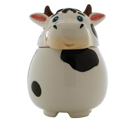 Wind and Weather Cow Ceramic Fruit Fly Trap