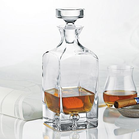 Wine Enthusiast Crystal Decanter with Stopper