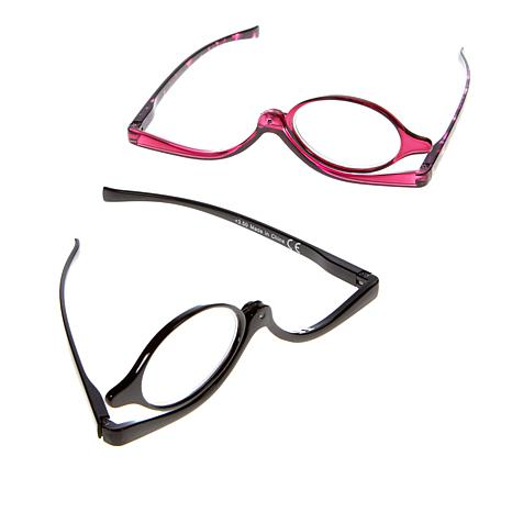 Winkz Magnifying Eye Makeup Glasses 2 Pack 8664632 Hsn