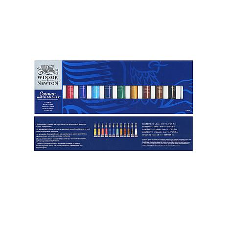 Winsor and Newton Cotman Watercolor 12-Tube Introductor