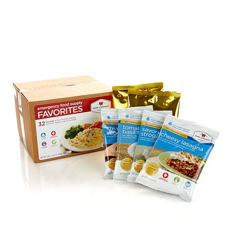 Wise Company Favorites 32-Serving Emergency Food Kit