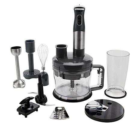 Wolfgang Puck 7-in-1 Immersion Blender with 12-Cup Food Processor