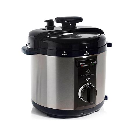 wolfgang puck pressure oven wolfgang puck 8 qt fully automatic pressure cooker with 31353