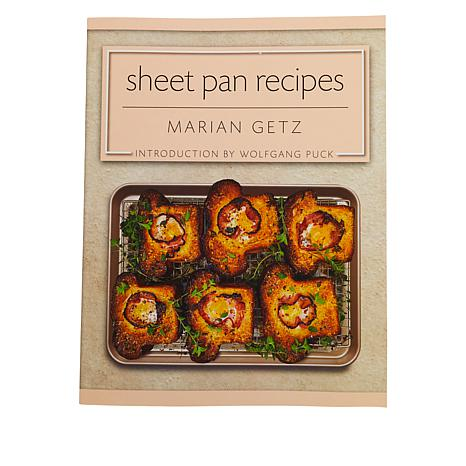 Wolfgang Puck Sheetpan Recipes Cookbook by Marian Getz