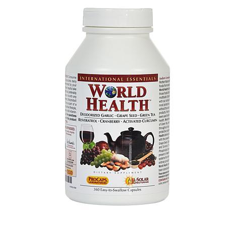 World Health - 360 Capsules