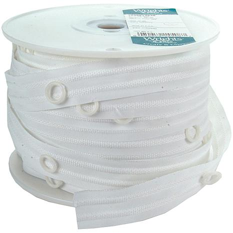 "Wrights 1"" Austrian Shade Tape - 50 Yards/White"