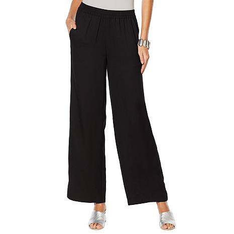 WynneLayers Crepe Pull-On Pant