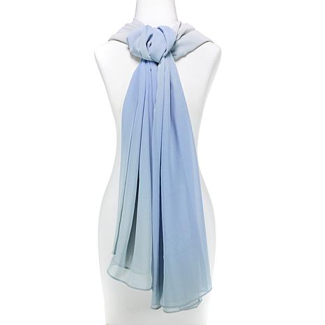 WynneLayers Ombre Lightweight Chiffon Scarf