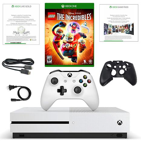 """Xbox One 1TB Starter Console w/""""LEGO Incredibles"""" Game & Accessories"""