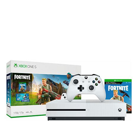 "Xbox One S 1TB Console with ""Fortnite"" Game"