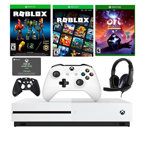 Xbox One S 1tb Console With Roblox Game Ori Game And Accessories Kit 9548630 Hsn
