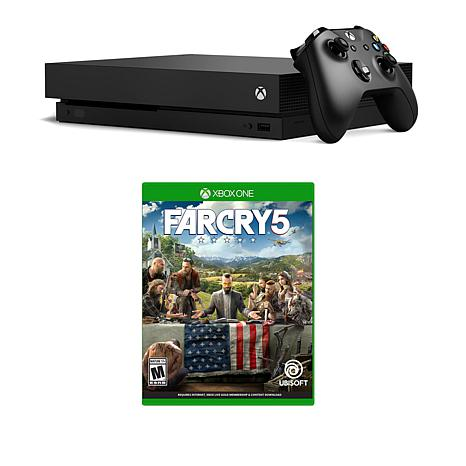 """Xbox One X 1TB 4K Console with """"Far Cry 5"""" and Microsoft Headset"""