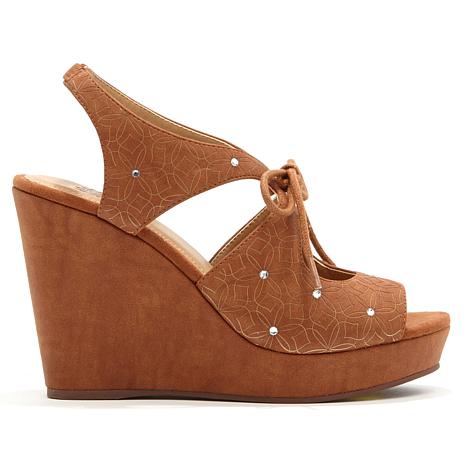 Yellow Box Starling Platform Wedge Sandal