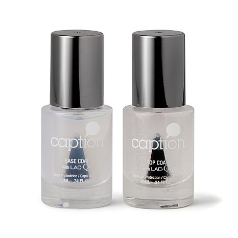 Young Nails Caption Top and Base Coat Duo