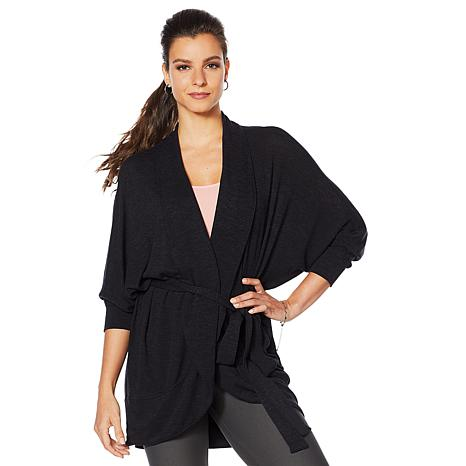 Yummie Cocoon Wrap with Self Belt