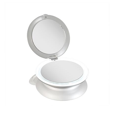 Zadro Led Lighted Ultimate Compact Mirror 8390427 Hsn
