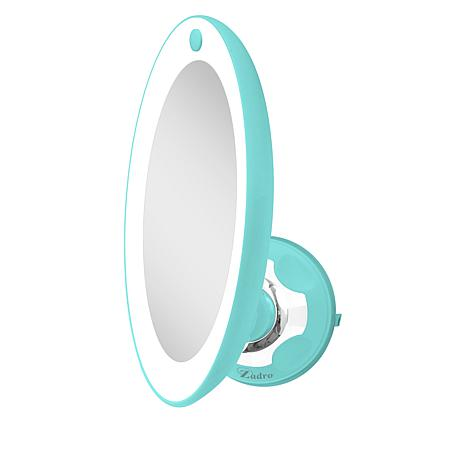 Zadro Z'Swivel LED Lighted Power Suction Mirror