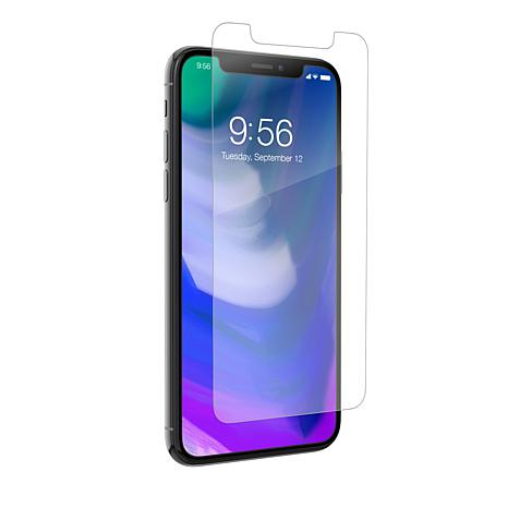 ZAGG InvisibleShield iPhone X and Xs Glass + Clear Screen Protector
