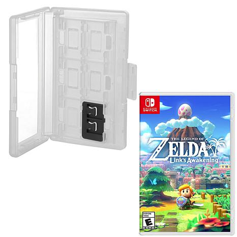 Zelda Links Awakening and Hard Shell Game Caddy for Nintendo Switch