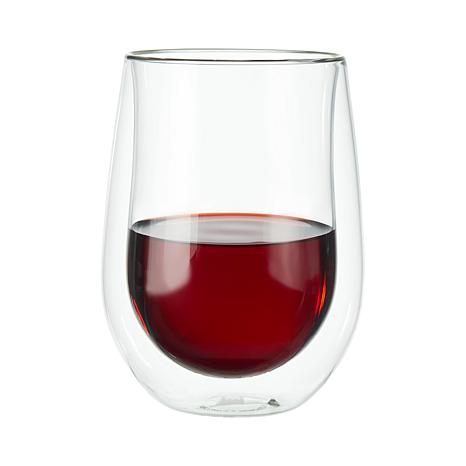Zwilling Stemless Red Wine Glass 2-Pack