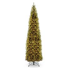 10' Kingswood® Fir Pencil Tree with Clear Lights
