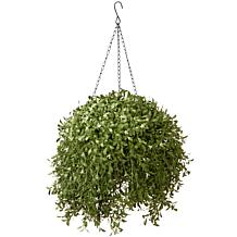 "18"" Artificial Topiary Argentea Basket"