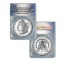 1900 Random-Mint Uncirculated Morgan Silver Dollar