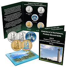 2013 Perry's Victory National Park 5pc Quarter Set