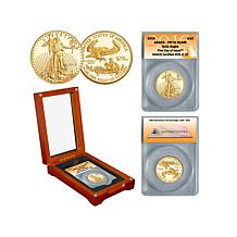2016 PR70 ANACS FDOI LE of (47) $10 Gold Eagle Coin