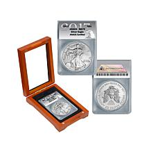 2017 MS70 ANACS  First Edition Silver Eagle Dollar Coin