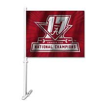 2017 National Champions Car Flag - Alabama