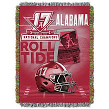 2017 National Champions Tapestry Throw - Alabama Crimson Tide