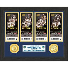2017 NBA Champions Ticket Collection