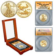 2019 PR70 ANACS First Day of Issue Limited Edition $5 Gold Eagle Coin