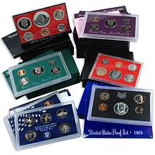 20th Century S-Mint Proof Set Collection: 1968-1999