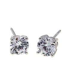 Absolute™ 1ctw Cubic Zirconia Round 4-Prong Stud Earrings