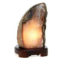 Agate Lamp Light Brown