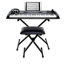 Alesis Harmony 61-Key Full-Size Keyboard with Bench, Stand and Lessons