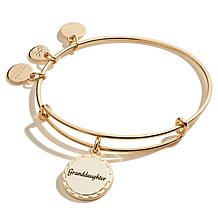 Alex and Ani Because I Love You Granddaughter Charm Bangle