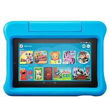"Amazon Fire 2019 Kids 7"" 16GB Tablet with Bumper and 2-Year Warranty"