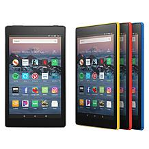 "Amazon Fire 8"" HD 16GB Tablet with Custom Case and App Voucher"