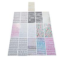 American Crafts Alphabet Thickers Foam Stickers Bundle