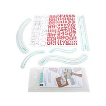 American Crafts Thickers Alignment Guides & Stickers