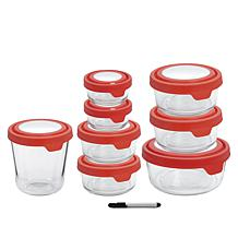 Anchor Hocking 16-Piece TrueSeal Food Storage Set