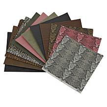 "Anna Griffin® 48-piece 12"" x 12"" Animal Print Cardstock Set"