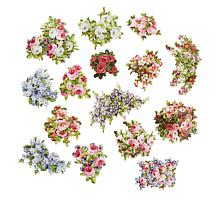 Anna Griffin® China Cabinet Floral Stickers - 120 Count