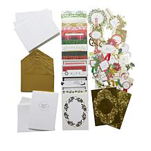 Anna Griffin® Christmas Collage Card Making Kit
