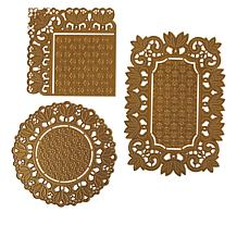 Anna Griffin® Doily Edge Cut and Emboss Dies