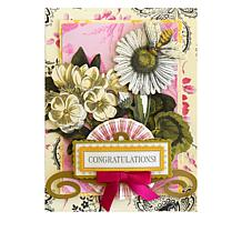 Card making hsn anna griffin engraved botanica card kit m4hsunfo