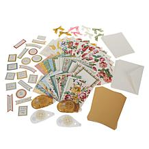 Anna Griffin® Painted Garden Decoupage Card Kit and Adhesive